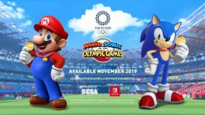 Mario & Sonic At the Olympic Games Tokyo 2020 Announced, Launches November
