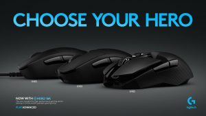 Logitech G Adds New HERO 16K Sensor to Gaming Mice