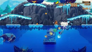 "Competitive Action-Platformer ""Aqua Lungers"" Launches August 9"