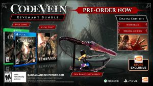 Opening Animation, Collector's Edition Revealed for Code Vein