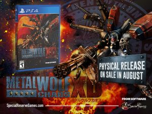 Metal Wolf Chaos XD Physical Release Announced