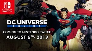 DC Universe Online Launches for Switch on August 6