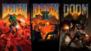Doom, Doom II, and Doom 3 Ported to PS4, Xbox One, and Switch