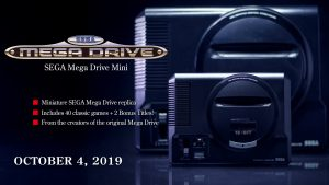 Mega Drive Mini Delayed in Europe to October 4