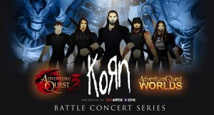 KoЯn is Hosting a Concert in AdventureQuest 3D