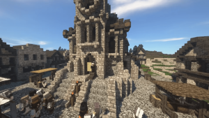 Someone is Building an Ambitious, Classical MMORPG Within Minecraft