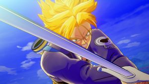 First Look at Playable Trunks in Dragon Ball Z: Kakarot