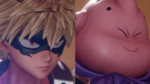 Jump Force DLC Characters Majin Buu and Katsuki Bakugo Launch August 27
