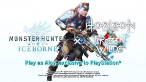 Monster Hunter World: Iceborne and Horizon Zero Dawn: The Frozen Wilds Collab Announced
