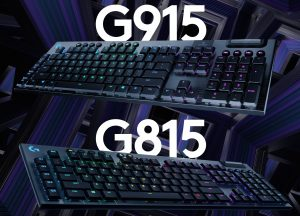 Logitech Announces G915 Lightspeed and G815 LightSync RGB Mechanical Keyboards
