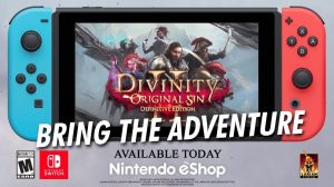 Divinity: Original Sin II Definitive Edition Now Available for Switch