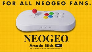 NEOGEO Arcade Stick Pro Game Lineup Announced, More Details
