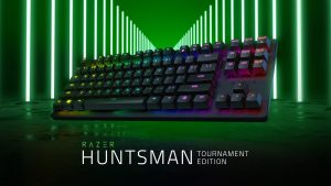 Shorter and Faster Razer Huntsman Tournament Edition Keyboard Announced