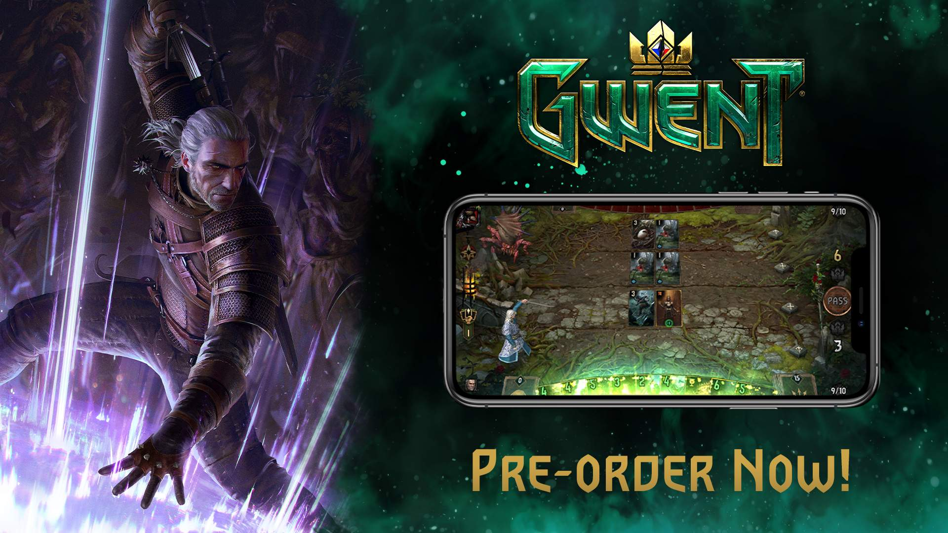 Gwent: The Witcher Card Game iOS Release Date Announced by