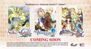 Atelier Dusk Trilogy Deluxe Pack Announced for PC, PS4, and Switch