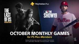 PlayStation Plus Freebies for October 2019 Announced