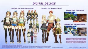 Digital Deluxe Edition Announced for Atelier Ryza