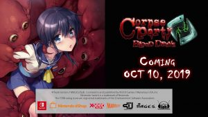 Corpse Party: Blood Drive Launches October 10 for PC, Switch Version Added