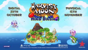 Harvest Moon: Mad Dash Launches October 29 Digitally, November 15 at Retail for Europe