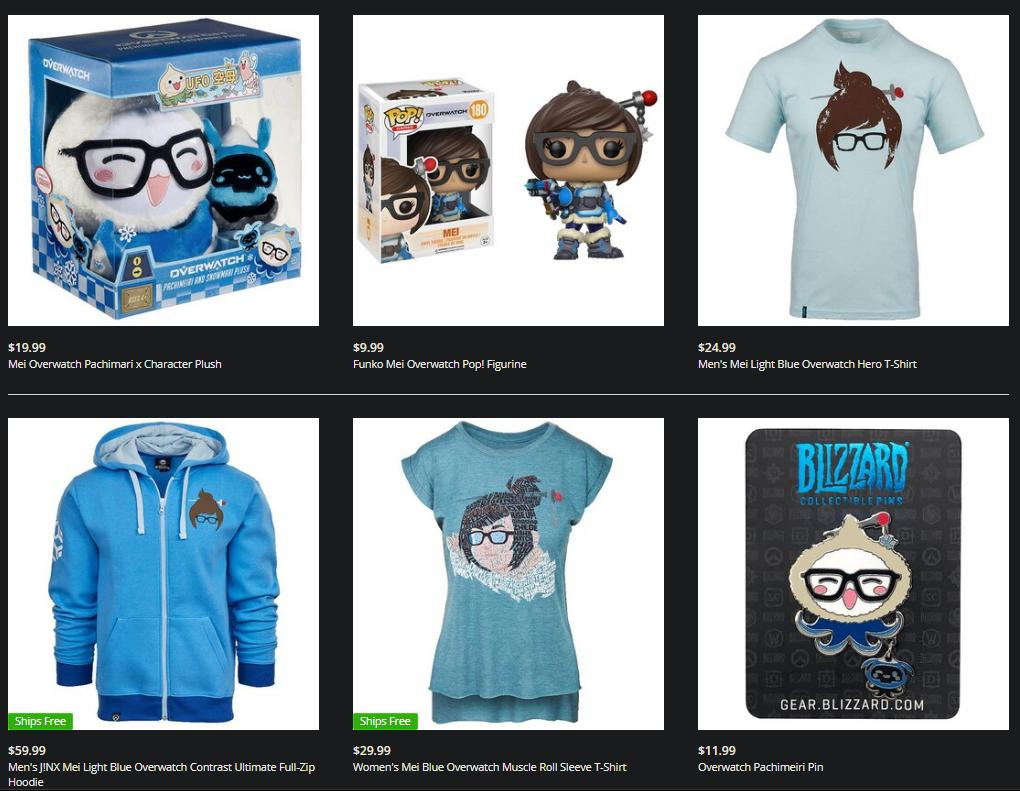 Suspicions Raise as Mei Statue is Removed from Blizzard