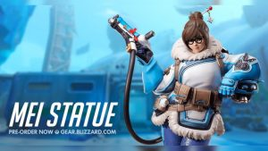 Suspicions Raise as Mei Statue is Removed from Blizzard Store, Quietly Added Back
