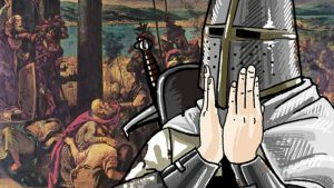 """Video Game Depicting the Crusades Bans Iconic Crusader Battle Cry """"Deus Vult"""""""