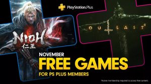 PlayStation Plus Games for November 2019 Announced