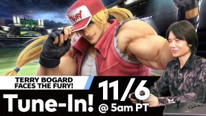 Super Smash Bros. Ultimate DLC Character Terry Video Broadcast Set for November 6