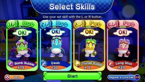 EXTEND Skill Upgrade System Revealed for Bubble Bobble 4 Friends