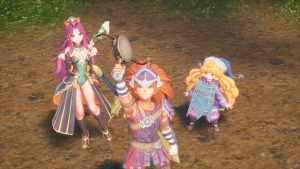 Duran Character Trailer for Trials of Mana
