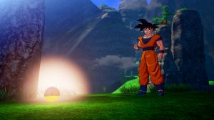 Dragon Ball Z: Kakarot Details for Dragon Ball Collecting Mechanic, Main Enemies Key Visual