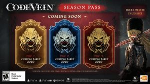 Code Vein Season Pass DLCs Set for Early 2020 Launch