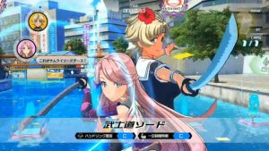 First Online Battle Gameplay for Kandagawa Jet Girls