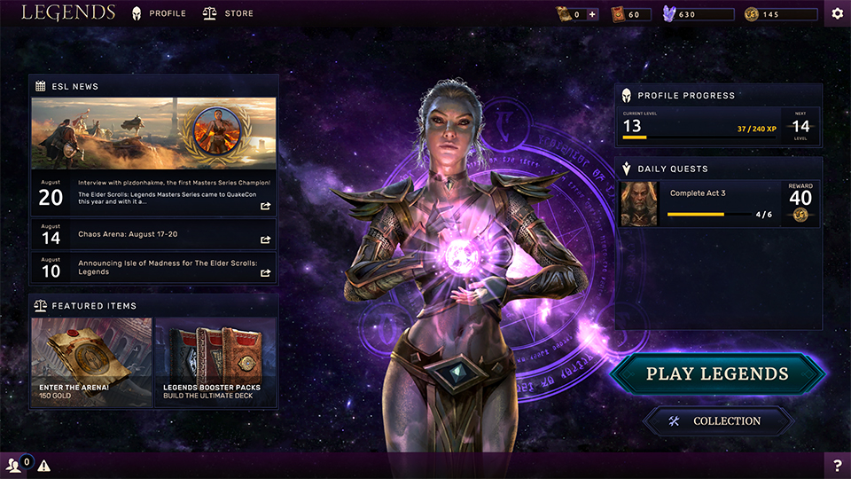 Bethesda Kills Off Future Expansions and Big Updates for The Elder Scrolls: Legends - Niche Gamer