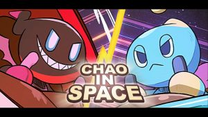 Sonic the Hedgehog Chao in Space Holiday Animation