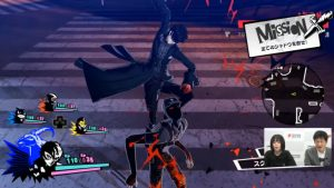 Persona 5 Scramble: The Phantom Strikers Shibuya and Sendai Gameplay