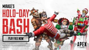 Apex Legends Mirage's Holo-Day Bash Content Live Now
