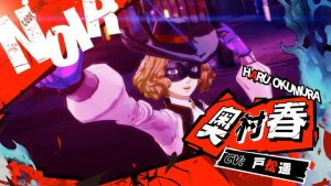 Haru Okumura Trailer for Persona 5 Scramble: The Phantom Strikers
