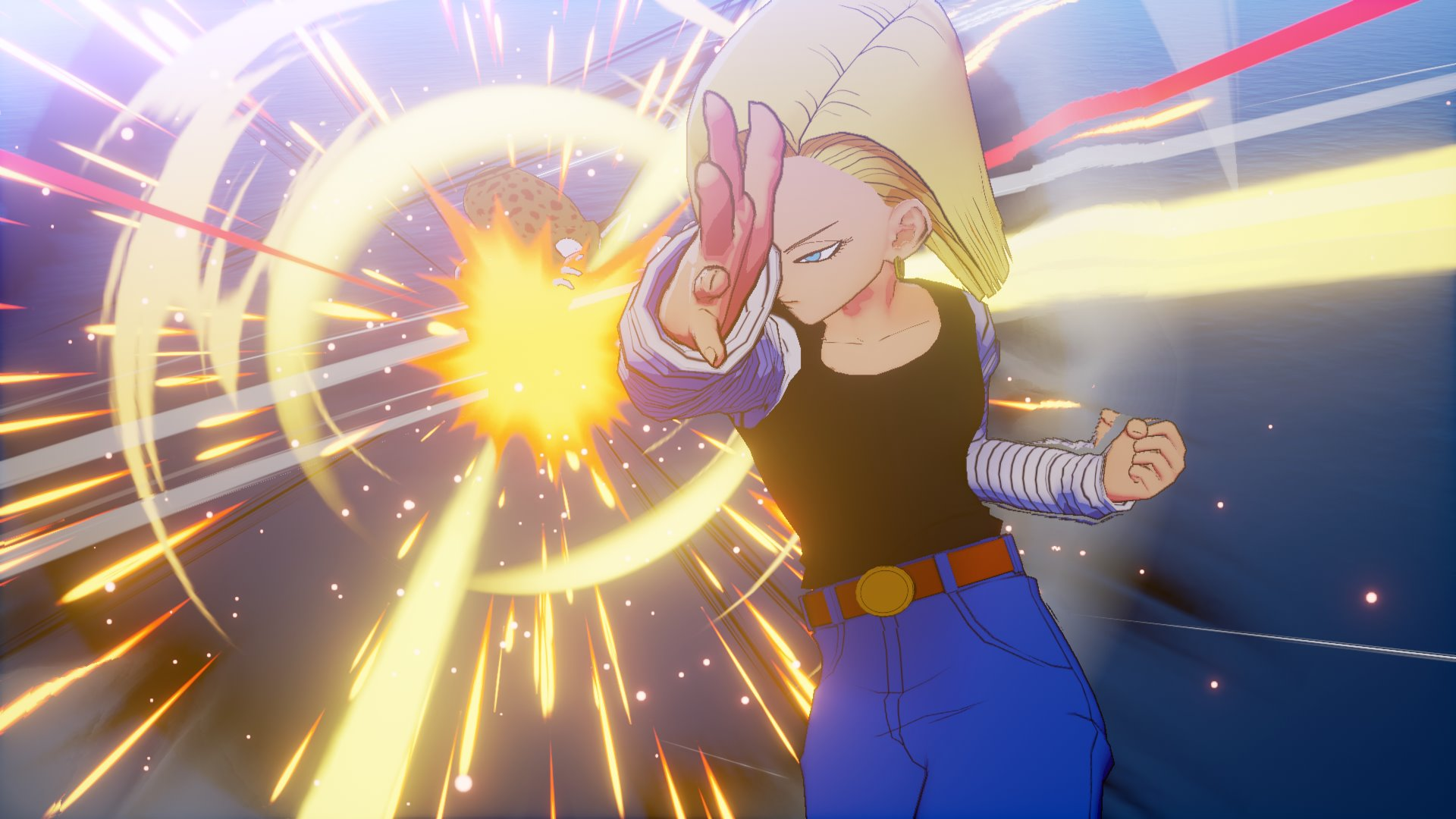 New Screenshots For Dragon Ball Z Kakarot Show Off Android 18 Trunks More Niche Gamer