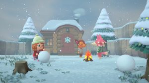 New Screenshots for Animal Crossing: New Horizons Show Off the Seasons