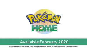 Pokemon Home Launches February 2020