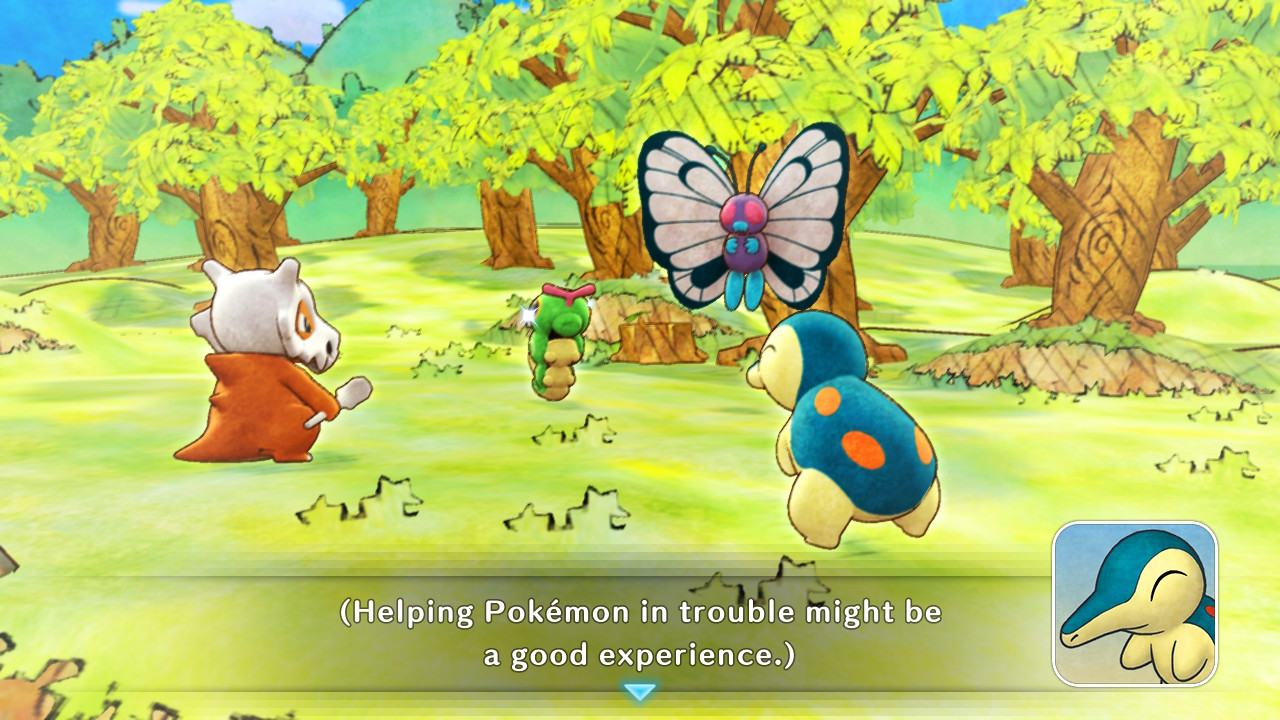 Pokemon Mystery Dungeon: Rescue Team DX, Demo, Preview