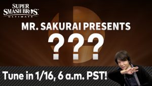 Final Super Smash Bros. Ultimate Fighter Pass #1 Character to be Revealed January 16