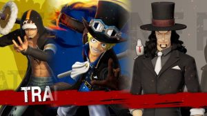 One Piece: Pirate Warriors 4 Trafalagar Law, Sabo, and Rob Lucci Trailers