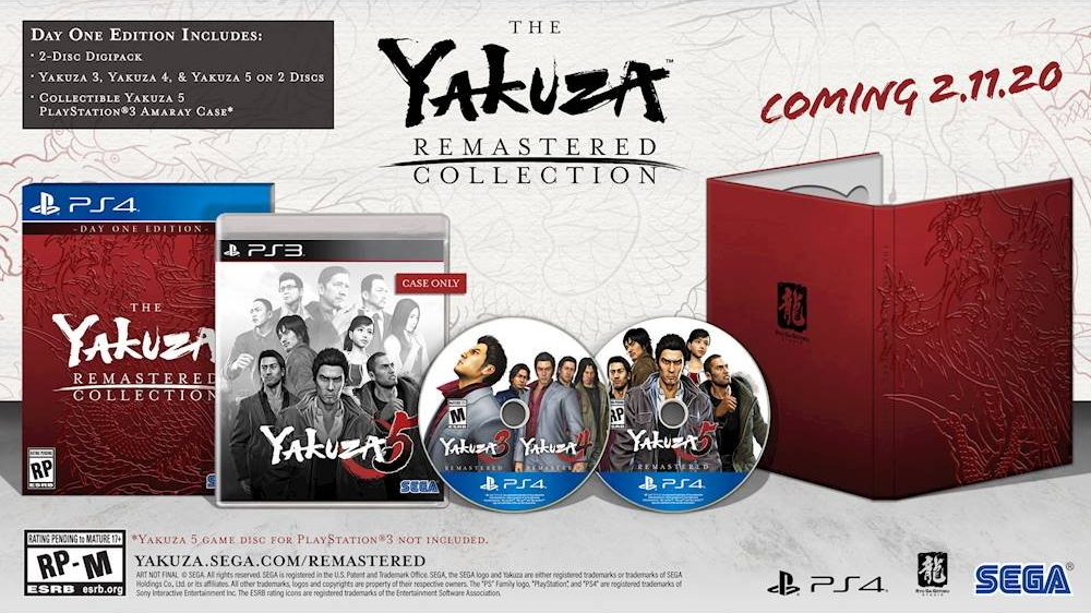 Yakuza Remastered Collectiom