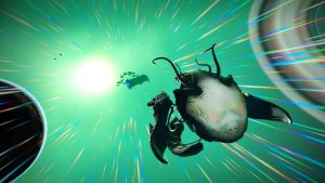 No Man's Sky Living Ship Update Available Now