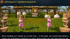 "Runescape Update Adds ""Diversity Improvements,"" Draws Outrage"