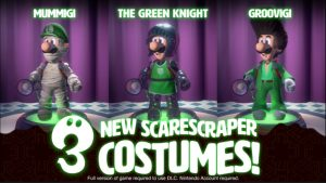 Luigi's Mansion Multiplayer Pack DLC Part 1 and Update 1.3.0 Available Now