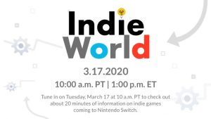 Nintendo Indie World Showcase Broadcasts March 17