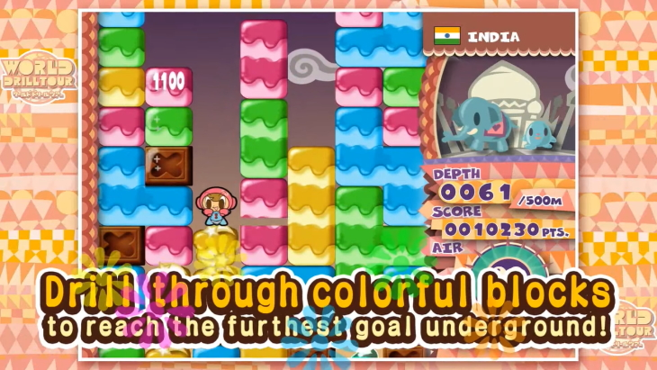 Mr. Driller DrillLand Remake Launches June 25 on Steam and ...